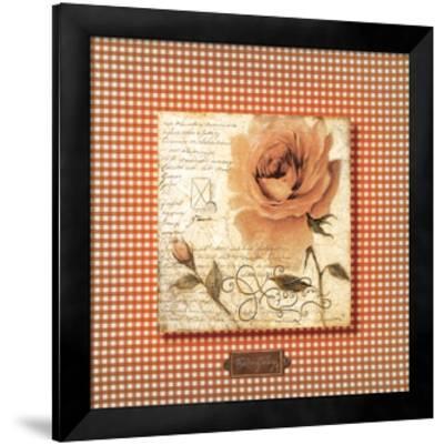 Orange Rose-Joadoor-Framed Premium Giclee Print