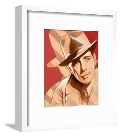 Portrait of H. Bogart-Joadoor-Framed Art Print