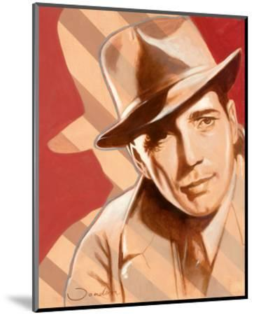 Portrait of H. Bogart-Joadoor-Mounted Art Print