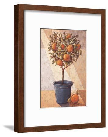 Orangetree-Karsten Kirchner-Framed Art Print