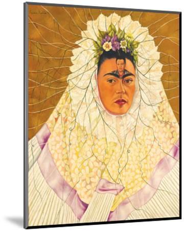 Portrait As Tehuana 1943-Frida Kahlo-Mounted Art Print