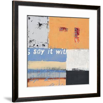 Say it with Flowers-Anna Flores-Framed Premium Giclee Print