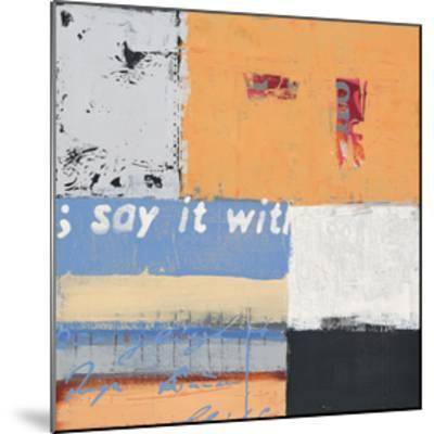 Say it with Flowers-Anna Flores-Mounted Art Print