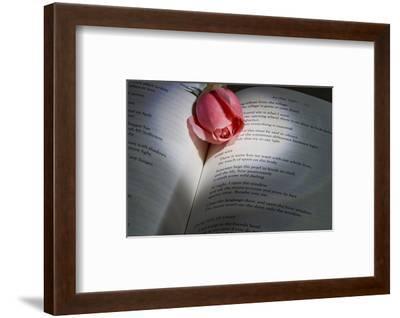 Schwartz - Blue Love Poem-Don Schwartz-Framed Art Print