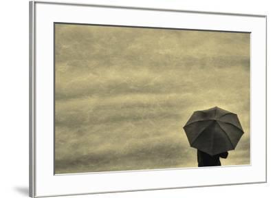 Schwartz - Little Red Umbrella-Don Schwartz-Framed Premium Giclee Print