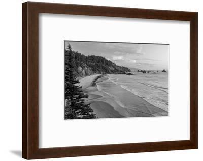 Schwartz - Rugged Coast-Don Schwartz-Framed Art Print