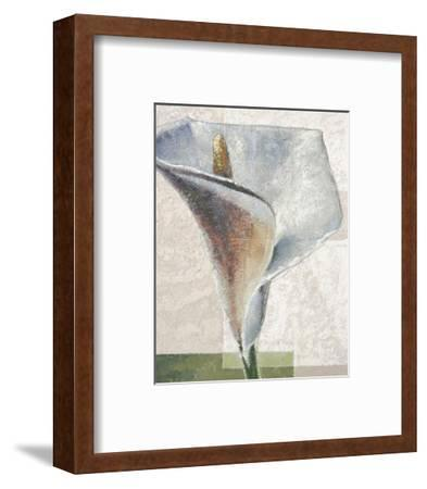 Standing White-Karsten Kirchner-Framed Art Print