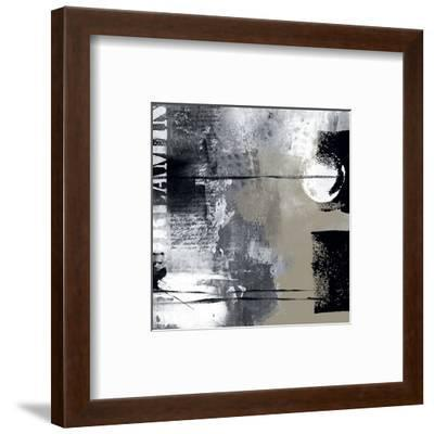 Silver Stream I-Lucy Cloud-Framed Art Print