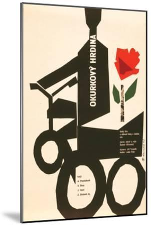 The Cucumber Hero-Okurkovy--Mounted Premium Giclee Print