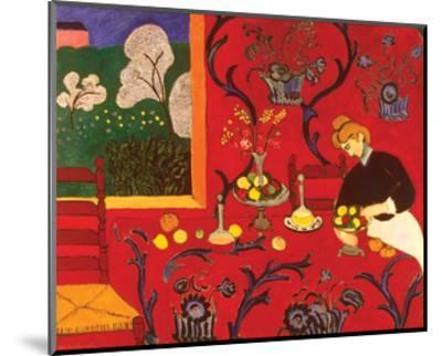 The Red Room-Henri Matisse-Mounted Art Print