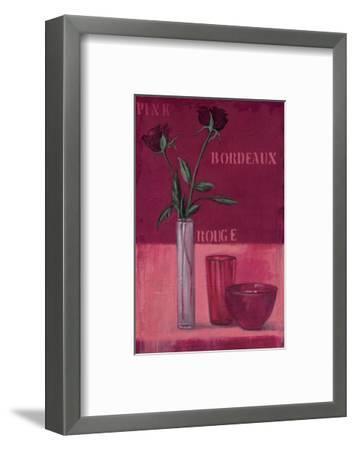 Variable Red-Anna Flores-Framed Art Print