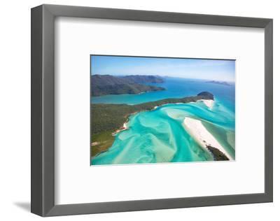 Whitehaven Beach Australia--Framed Art Print