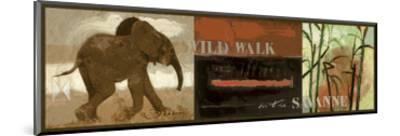 Wild Walk-Joadoor-Mounted Art Print