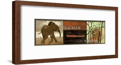 Wild Walk-Joadoor-Framed Art Print