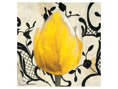Yellow Tulip-Joadoor-Framed Art Print