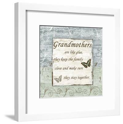 Grandmothers-Sheldon Lewis-Framed Art Print