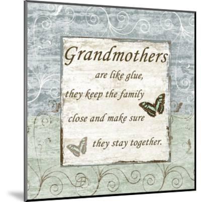 Grandmothers-Sheldon Lewis-Mounted Art Print