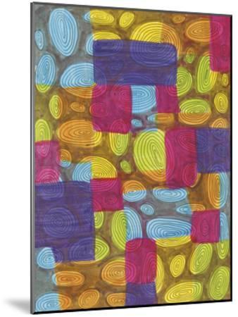 Ovals-Pam Varacek-Mounted Art Print
