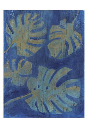 Gold Palm-Smith Haynes-Framed Art Print