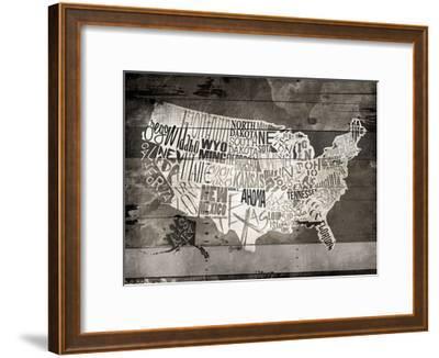 Wood USA-Jace Grey-Framed Art Print