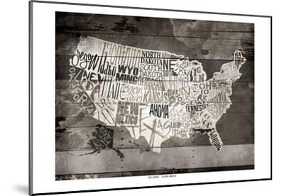 Wood USA-Jace Grey-Mounted Art Print