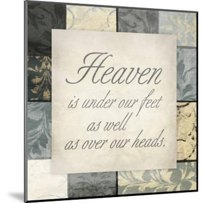 Heaven Under Feet-Jace Grey-Mounted Art Print