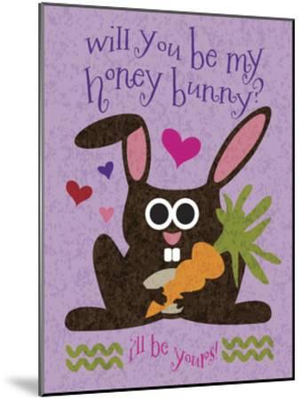Valentine Rabbit 2-Melody Hogan-Mounted Art Print