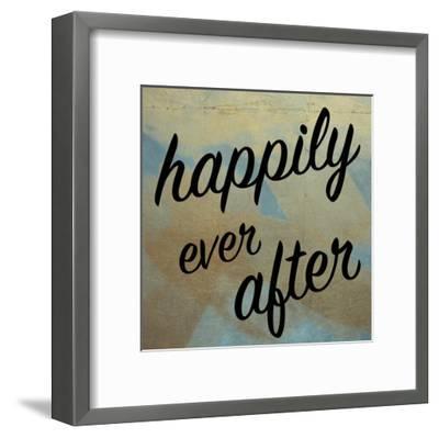 Happy Ever After-Victoria Brown-Framed Art Print