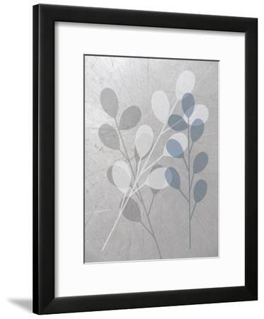 Placid Gray-Melody Hogan-Framed Art Print
