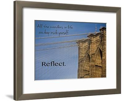 Brooklyn Wander-Joseph Rowland-Framed Art Print