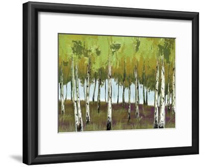 The Birch 2-Sunny Sunny-Framed Art Print
