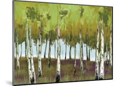 The Birch 2-Sunny Sunny-Mounted Art Print