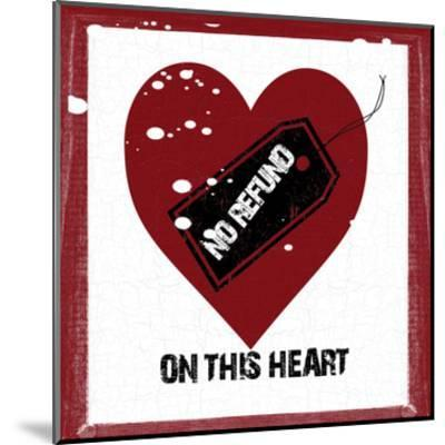 Heart To Keep-Sheldon Lewis-Mounted Art Print