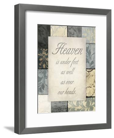 Heaven Under Our Feet-Jace Grey-Framed Art Print