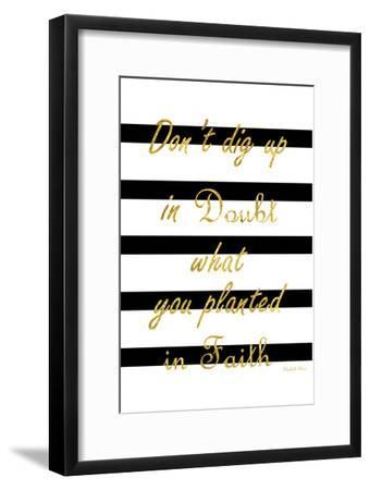 Never Doubt-Sheldon Lewis-Framed Art Print