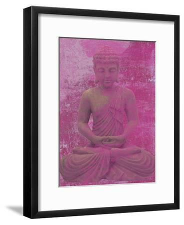 Buddha Meditate-Sheldon Lewis-Framed Art Print