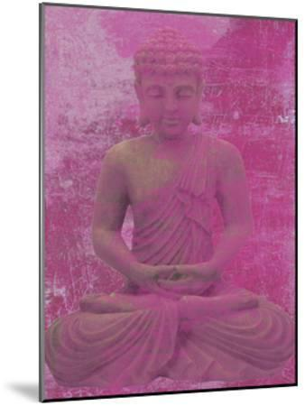Buddha Meditate-Sheldon Lewis-Mounted Art Print