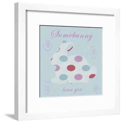 Somebunny-Sheldon Lewis-Framed Art Print