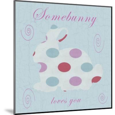 Somebunny-Sheldon Lewis-Mounted Art Print