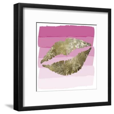 Sparkle GlamLip-Melody Hogan-Framed Art Print