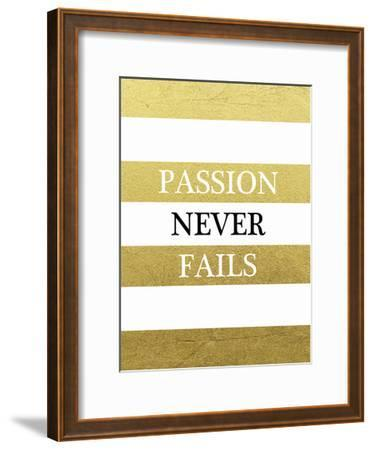 Passion-Victoria Brown-Framed Art Print
