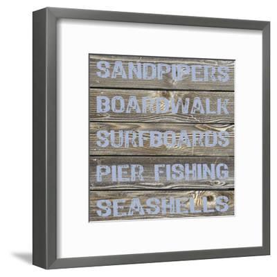 Ocean Surf-Melody Hogan-Framed Art Print