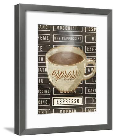 Espresso-OnRei-Framed Art Print