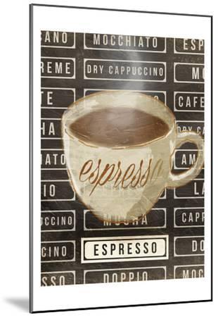Espresso-OnRei-Mounted Art Print