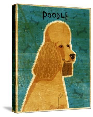 Apricot Poodle-John W^ Golden-Stretched Canvas Print