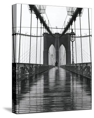 Brooklyn Bridge-Christopher Bliss-Stretched Canvas Print