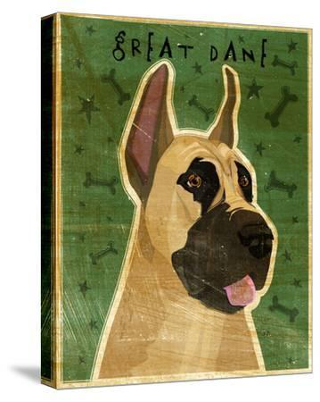 Great Dane (Fawn)-John W^ Golden-Stretched Canvas Print