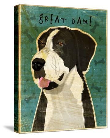 Great Dane (Mantle, no crop)-John W^ Golden-Stretched Canvas Print