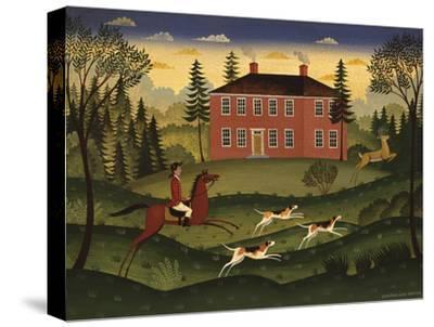 Hart Hunt-Diane Ulmer Pedersen-Stretched Canvas Print