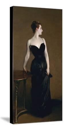 Madame X (Madame Pierre Gautreau), 1883-John Singer Sargent-Stretched Canvas Print